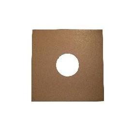 Carton marron tipo pizarra 78rpm - 50 unidades