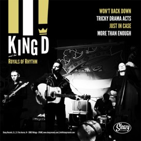 King D And The Royals Of Rhythm  / The New Attention
