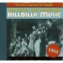 Hillbilly Music 1953